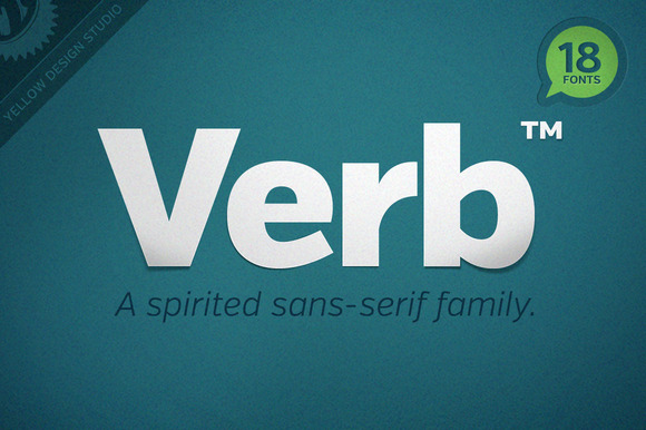 Verb Regular Webfonts