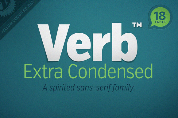 Verb Extra Condensed Complete