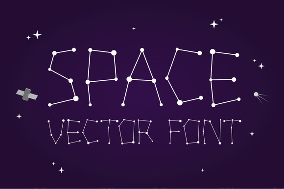 Outta Space Vector Font