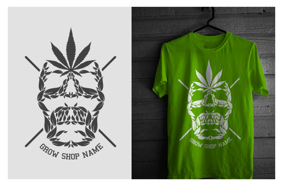 Grow Shop Promote Tshirt