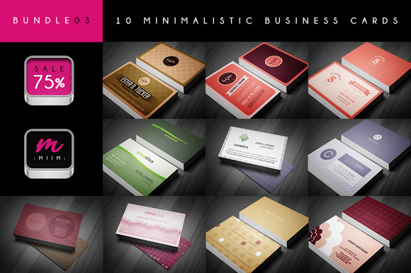 Business Cards Bundle 03