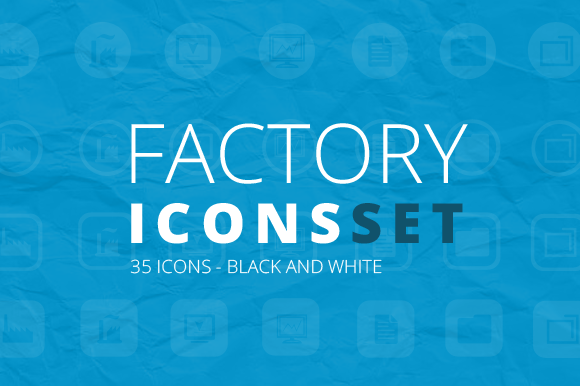 Factory Icons Set