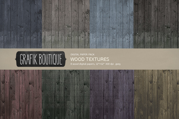 Wood Textures Rustic Dark