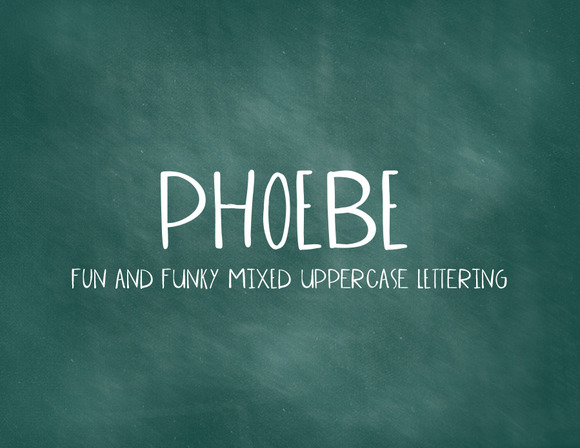 Phoebe Mixed Uppercase
