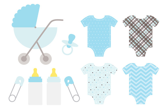 Baby Boy Blue Set