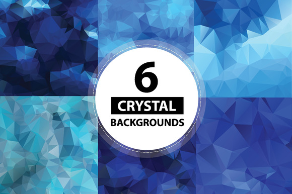 6 Crystal Backgrounds