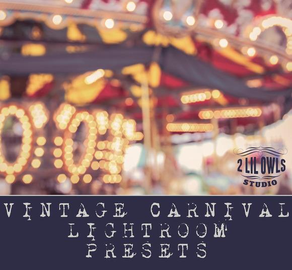 LR Presets Vintage Carnival
