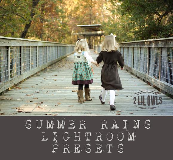 LR Presets Summer Rains