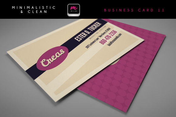 Clean Business Card Template 05