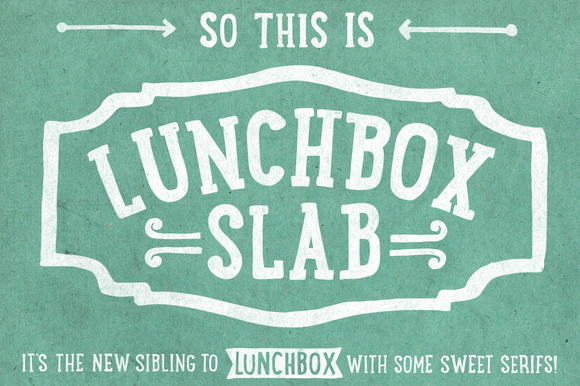 Lunchbox Slab 50% OFF Intro Sale
