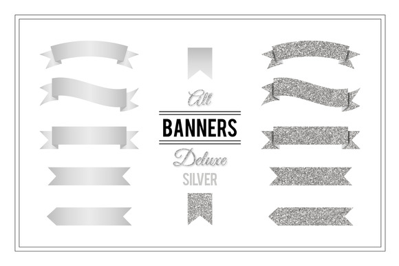 Banners Deluxe Silver