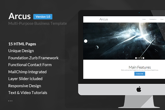 12$ Arcus Multi-Purpose Template
