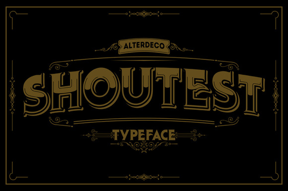 Shoutest Typeface
