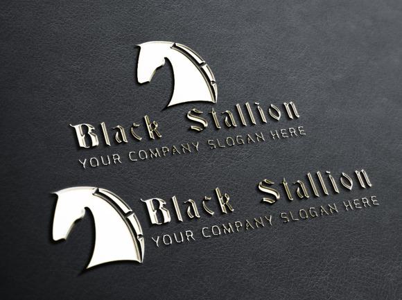 Black Stallion Logo