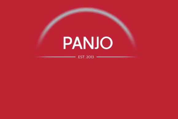 Panjo Desktop Web Font