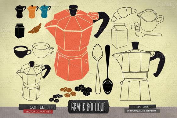 Vintage Coffee Moka Espresso