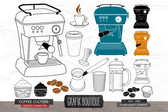 Coffee Espresso Machine Cupcake