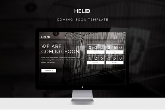 Heloo Coming Soon Template
