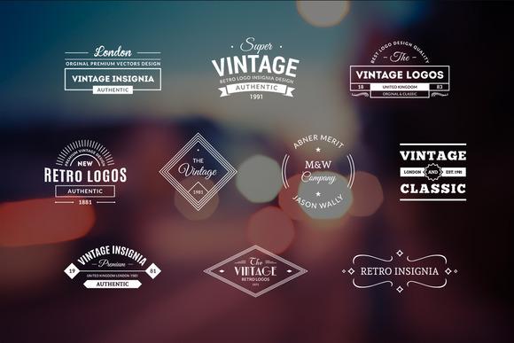 10 Retro Logos Vol 6