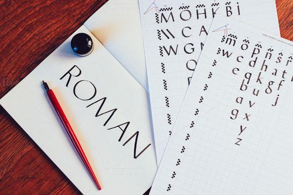 Beginner Calligraphy Templates