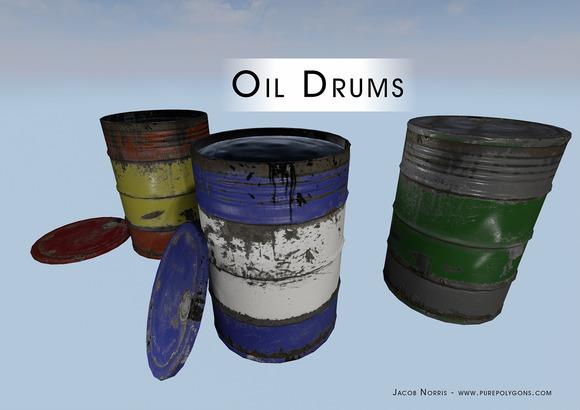 Game Film Barrels Oil