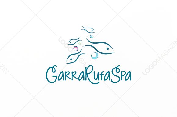 Fish Garra Rufa Logo