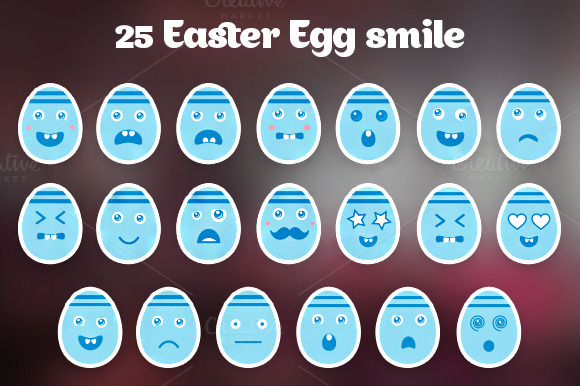 Easter Egg Smile