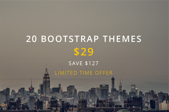 Theme Bundle 20 Bootstrap Themes