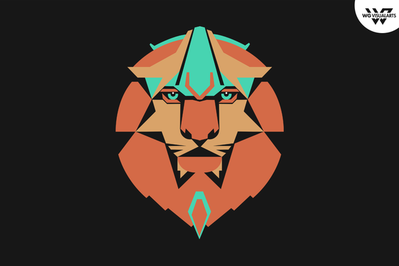 Lion Vector Logo Template
