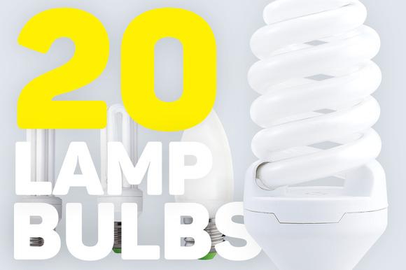 20 Energy Saving Light Bulbs Lamps