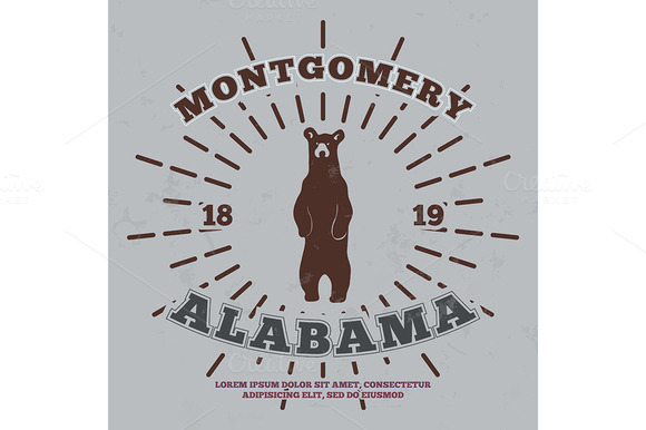 Montgomery Alabama T-shirt Graphic