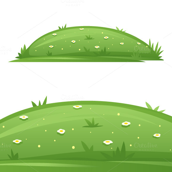 Glade With Grass
