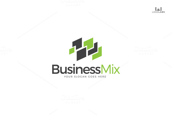Business Mix Logo