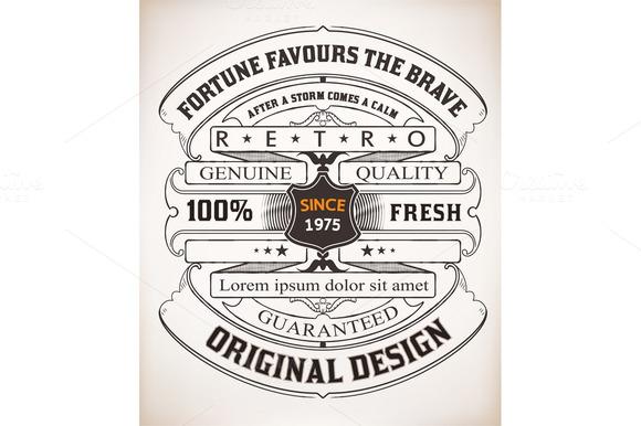 Vector Retro Design