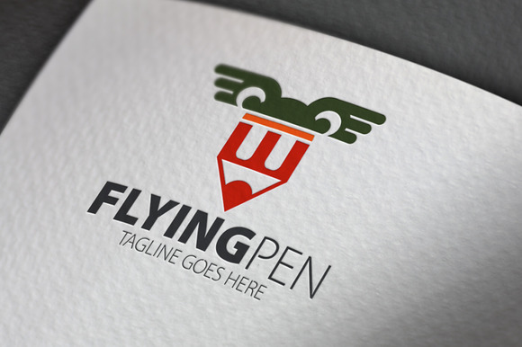 Flying Pen Logo