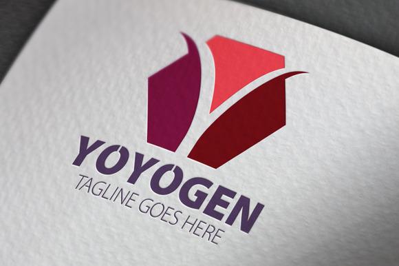 Yoyogen Y Letter Logo