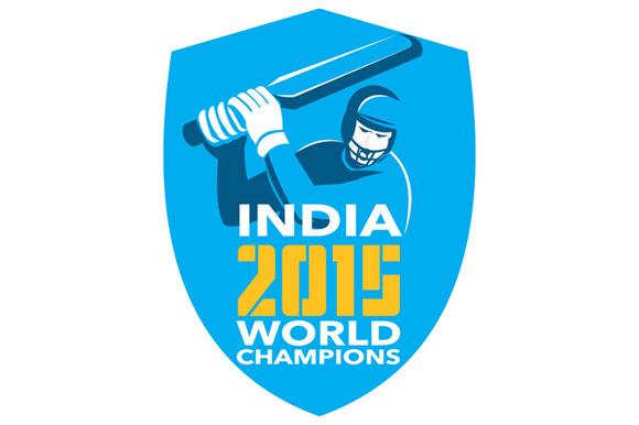 India Cricket 2015 World Champions S