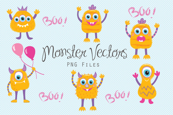 Party Monster Vectors