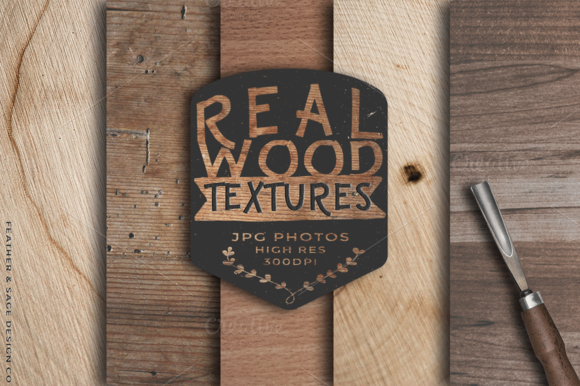 Real Wood Photo Texture Backgrounds