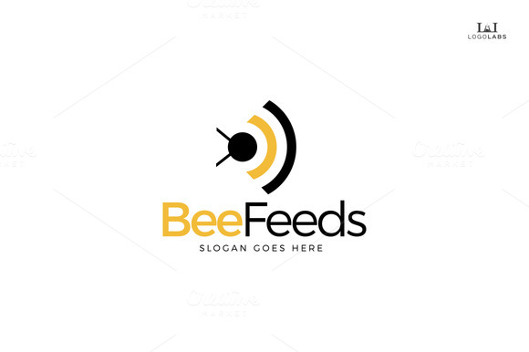 Bee Feeds Logo