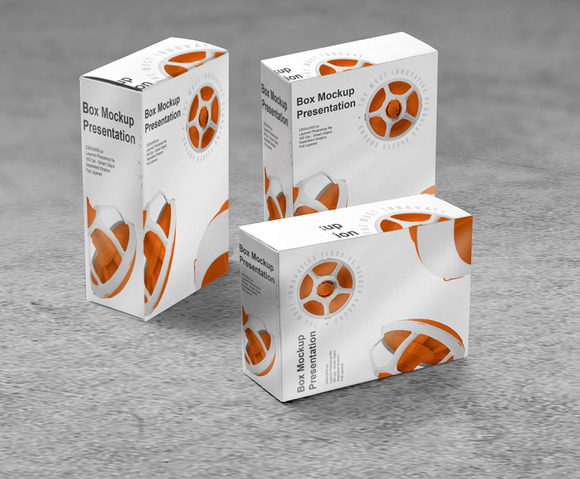 Package Mock-Up 3 In 1