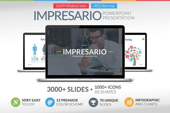 Impresario Powerpoint Template
