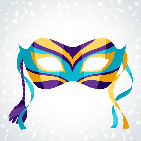 Festive Carnival Masks