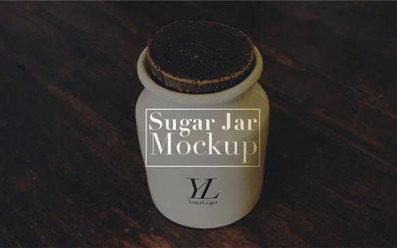 Sugar Jar Mockup