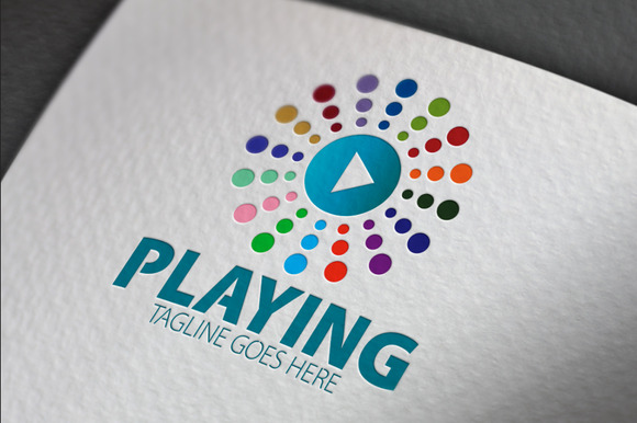 Playing Logo