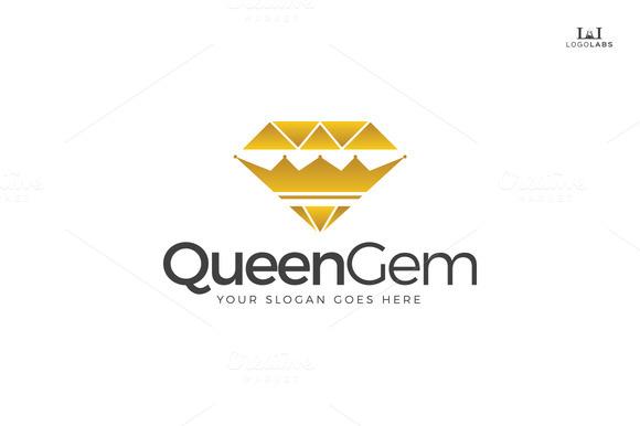 Queen Gem Logo
