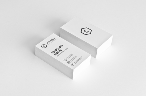 Simple Modern Business Card 23