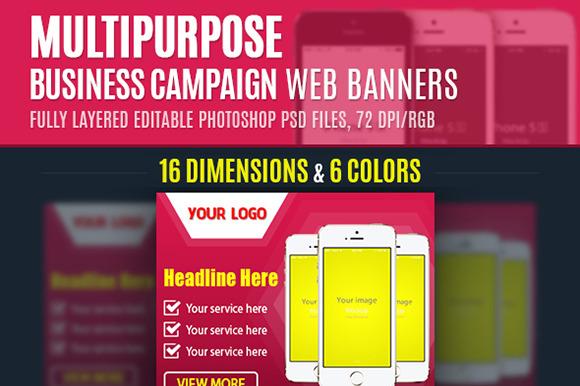Multipurpose Business Campaign Web