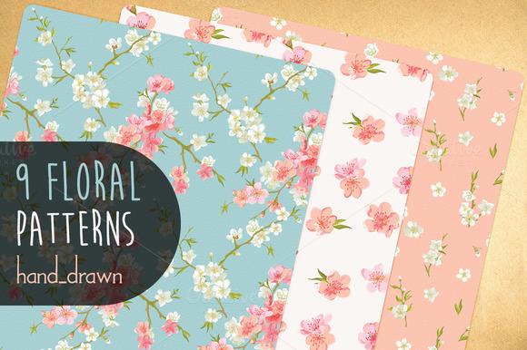 9 Floral Patterns