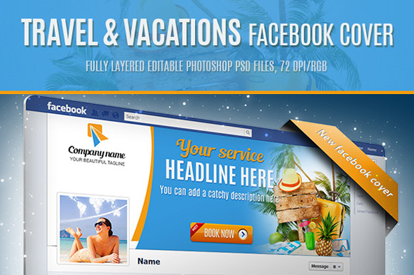 Traval Vacations Facebook Cover
